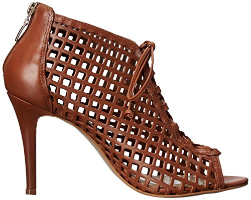 STEVEN by Steve Madden Womens Klio Dress Sandal, Cognac Leather, 7.5 M US