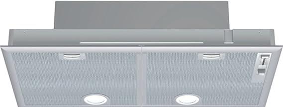 Siemens LB75564 - Campana (Canalizado/Recirculación, 650 m³/h, 59 Db, Incorporado, Halógeno, Plata): Amazon.es: Grandes electrodomésticos