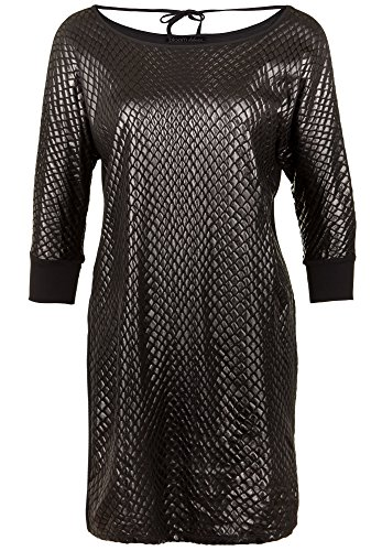Damen Dress Snake bloom Kleid Black 8qS1AZ