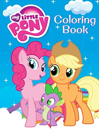 My Little Pony Coloring Book: Great Coloring Book for Kids and Any Fan of My Little Pony