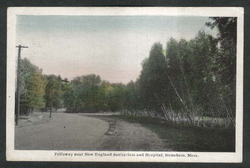 fellsway-new-england-sanitarium-hospital-stoneham-ma-postcard-1930