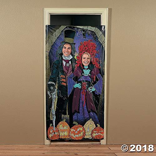 Haunted Mansion Photo Door Banner - Halloween Party