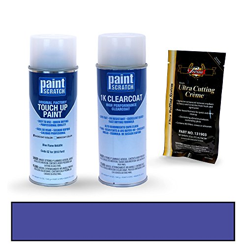 [2010 Ford F-Series Blue Flame Metallic SZ Touch Up Paint Spray Can Kit by PaintScratch - Original Factory OEM Automotive Paint - Color Match Guaranteed] (Factory Spray Paint)