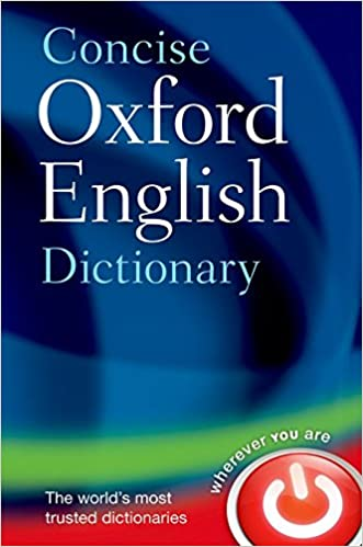 Amazon com: Concise Oxford English Dictionary: Main edition