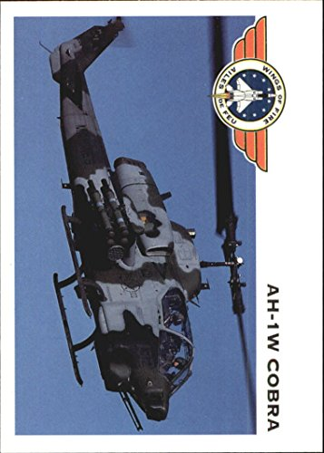 Cobra Helicopter Gunship (1992 Wings of Fire #93 Marine Corps AH-1W Cobra Helicopter Gunship - NM-MT)