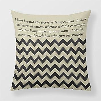 Lightinglife Decorative Sofa Cushion Chevron Decorative Pillow Cover For Sofa Stripes Zigzag Decorative Pillow 18 X 18 xdq