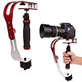 AFUNTA Pro Handheld video Camera Stabilizer Steady, Perfect for GoPro, Cannon, Nikon or Light DSLR camera