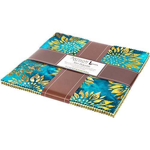 Robert Kaufman Fabrics Artisan Batiks Summer Flowers 42 Ten Inch - Christmas Batik