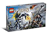 Lego Vikings Set #7021 Double Catapult Versus the Armored Ofnir Dragon