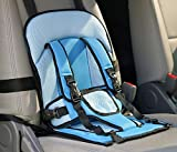 SHP Convertible Baby Child Car Safety Booster Seat Pad Group Car Baby Safety Seat Pad Child Clip Buckle Latch Nylon, Lock Tite Harness Clip