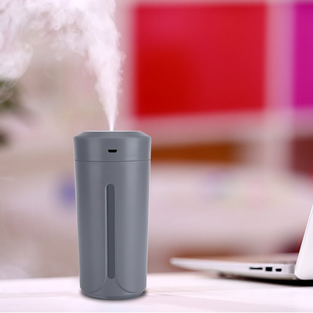 230ML Humidificador de Niebla Fr/ía Purificador de USB 7 Luces LED de Noche de Color Cambiante para Escritorio de Oficina Dormitorio Socialme-EU Azul