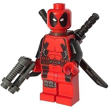 LEGO® Super Heroes: Deadpool Minifigure: Amazon.co.uk: Toys & Games