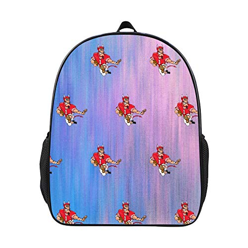 SARA NELL Preschool Backpack Devil Sports Football School Backpack Book Bag For ()