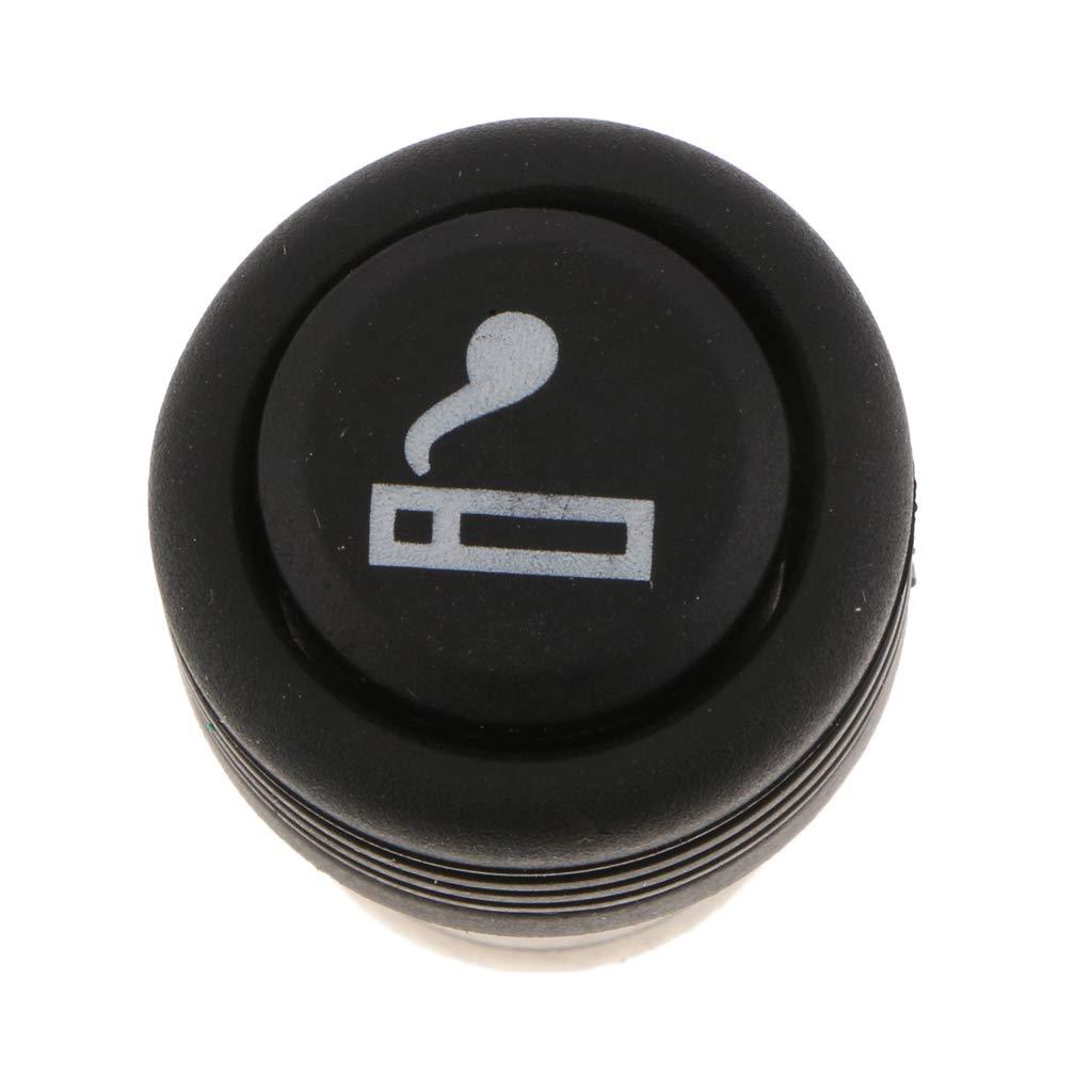 B Blesiya Zigarettenanz/ünder-Adapter Eingebauter hitzebest/ändiger Keramikschutz