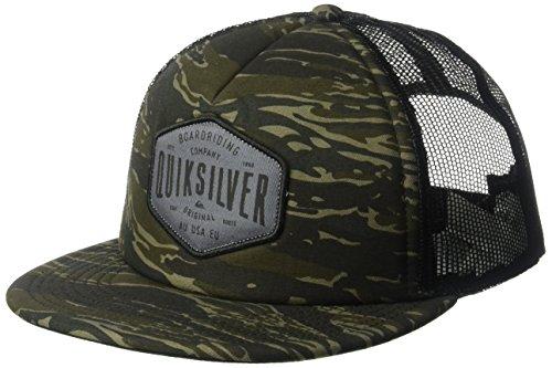 (Quiksilver Men's Brain Gainer Trucker Hat, Olivine One Size)