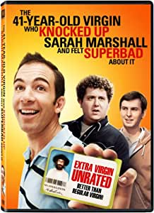 41-Year-Old Virgin Who Knocked Up Sarah Marshall and Felt Superbad About It