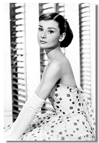Tomorrow sunny 24x36inch AUDREY HEPBURN Movie Art Silk Poster Roman Holiday Vintage Picture 003