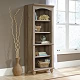 Sauder Harbor View 5 Shelf Bookcase in Salt Oak