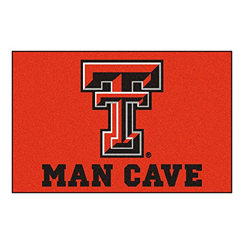 Texas Tech University Man Cave Area Rug (Tailgater) ()