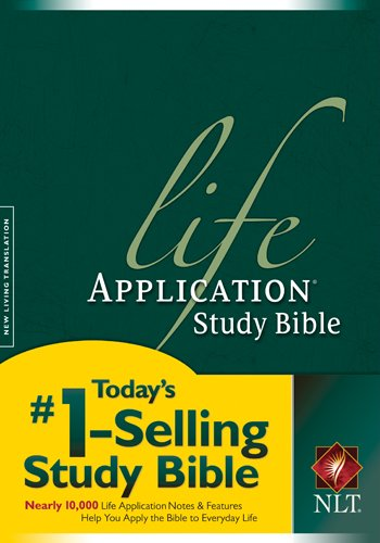 NLT Life Application Study Bible, Second Edition (Red Letter, ()