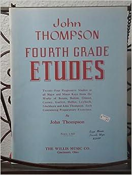 fourth grade etudes 24 progressive studies in all major and minor keys from works of berens bertini mcmxli
