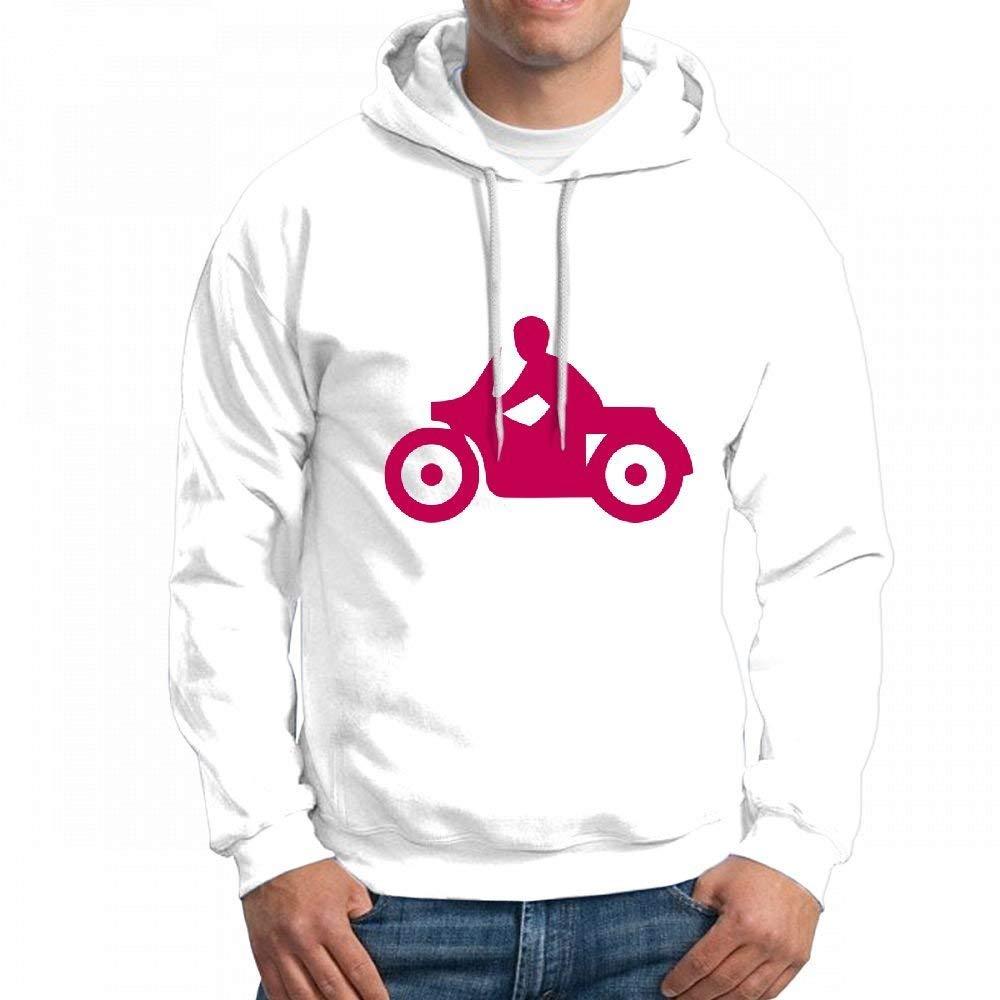 Mens Sweatshir Motorcyclist Custom Mens Hoodies