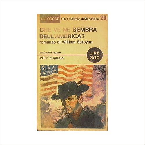 Beste Bücher zum kostenlosen Download Che ve ne sembra dell'America? PDF B006GE7BY2