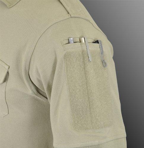 Hazard 4 Herren Quickdry LEO Einheitlich Ersatz Battle Polo Shirt Tan Größe XL