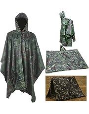 Rain Poncho,Waterproof Raincoat with Hoods Rain Poncho for Outdoor Activities Men,Women