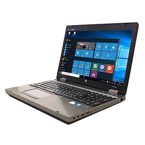 ノートパソコン 中古 HP ProBook 6560b Core i5 3GBメモリ 15.6インチワイド DVD-ROMドライブ Windows10 WPS Office 付き B07512V8F7