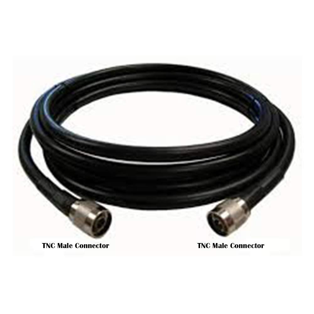 OXYWAVE Premium LMR 200 - Cable coaxial con Conector Macho TNC (20 ...