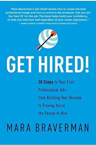 amazon com get hired 20 steps to your first professional job
