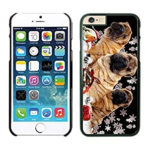 Popular Design Christmas Snowflake Dogs Iphone 6 Cover Case For Iphone 6 4.7 Inch