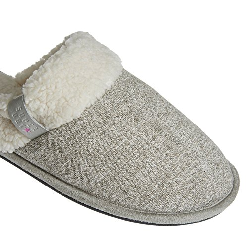 Gris Chaussons Femme Marl Mule Superdry Gris YxC4ZaqSw