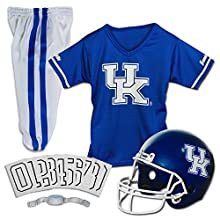 Franklin Sports NCAA Kentucky Wildcats Deluxe Youth Team Uniform Set, Small