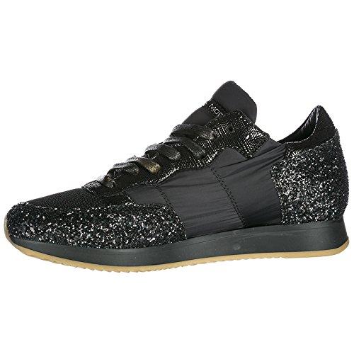 Tropez Femme En Baskets Noir Model Philippe Daim Sneakers Chaussures q0wUZfP
