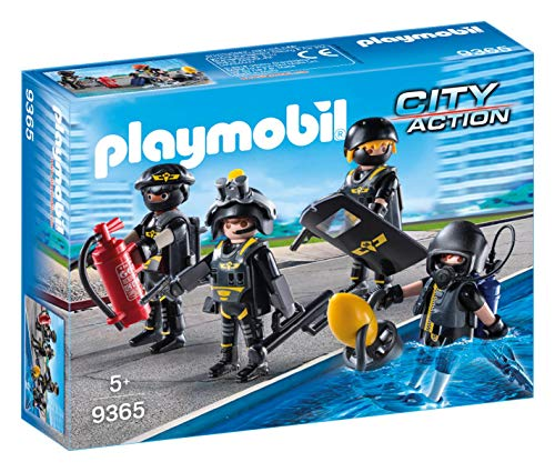 PLAYMOBIL Tactical Unit Team (Police Station Playmobil)