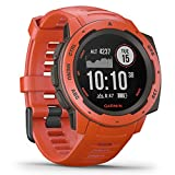 Best GPS Watches - Garmin Instinct, Rugged Outdoor Watch with GPS, Features Review