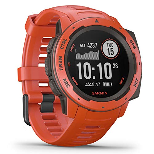 Garmin Instinct, Rugged Outdoor Watch with GPS from Garmin