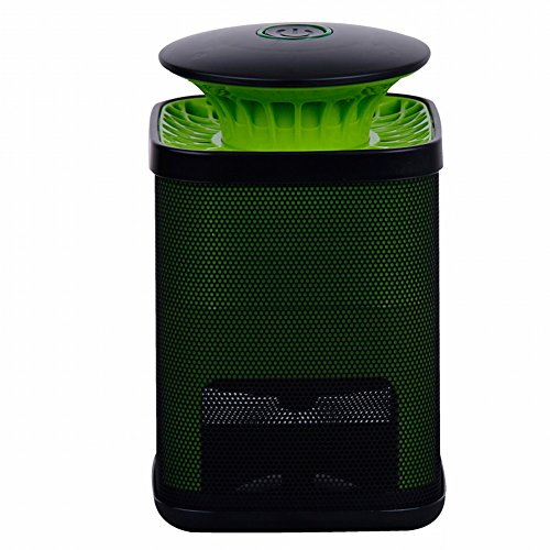 DIDIDD Mosquito Killer Indoor Indoor Mosquito Repellent Artifact Mosquito Bedroom Lock Electric Mosquito Catcher Automatic Plug-In Type,Black