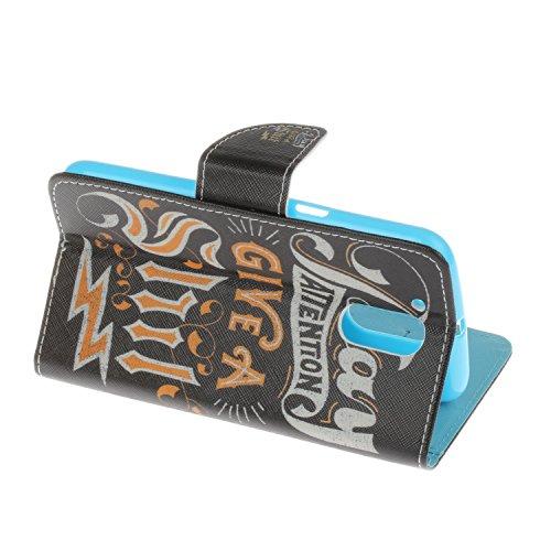 Ecoway Serie pintada Caja del teléfono de moda para Motorola Moto G4 / G4 Plus - Couple Text
