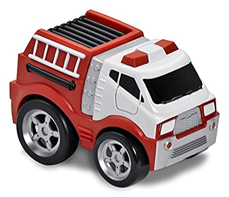 Amazon.com: Kid Galaxy Squeezable Pull Back Police Car. Toddler Emergency Vehicle Toy for Kids Age 2 and Up: Toys & Games