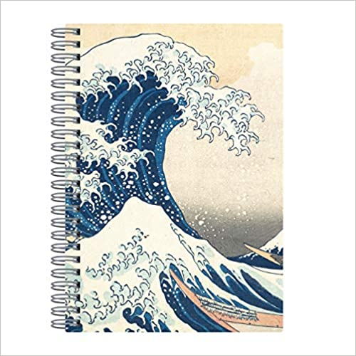 Hokusai Great Wave Wire-O Journal 6 X 8.5