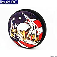 Hot Racing SCX36117E 1/10 Scale American Eagle Spare Tire Cover - (toy)