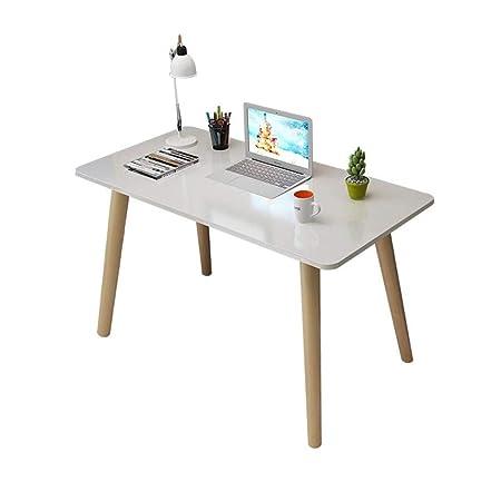 Xu-table Mesa de Madera Maciza for computadora, Barra de ...