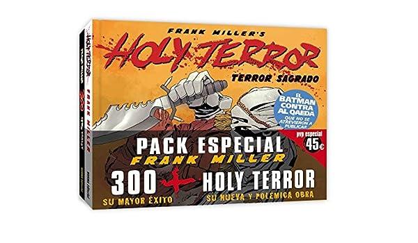 PACK 300 + HOLY TERROR (CÓMIC USA): Amazon.es: Miller,Frank: Libros