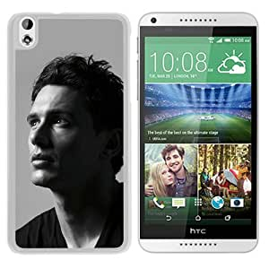 Beautiful Designed Cover Case For HTC Desire 816 With James Franco 1 White Phone Case