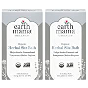 Earth Mama Organic Herbal Sitz Bath for Pregnancy and Postpartum, 6-Count, 2-Pack
