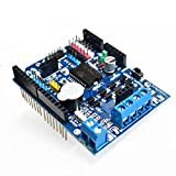 FICBOX L298P Motor Driver Module H-bridge Drive Shield Expansion Board High-Power DC Stepper Motor Controller For Arduino