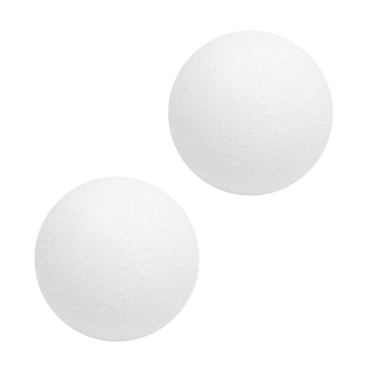 Eyepower Pelotas de Futbolín Ø 36 mm 21 g | Conjunto de 2 Bolas de Repuesto | Bola de plástico Duro áspero Antideslizante | Blanco: Amazon.es: Deportes y ...